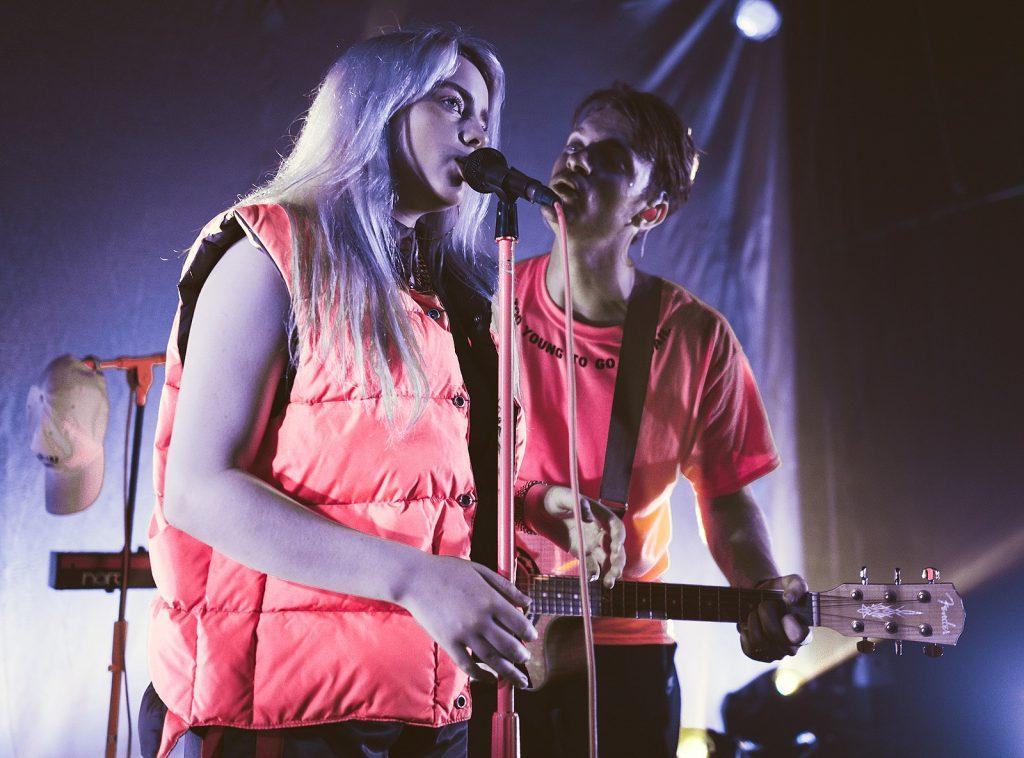 Billie Eilish and Finneas O'Connell, biomusic creator, Photo by Justin Higuchi