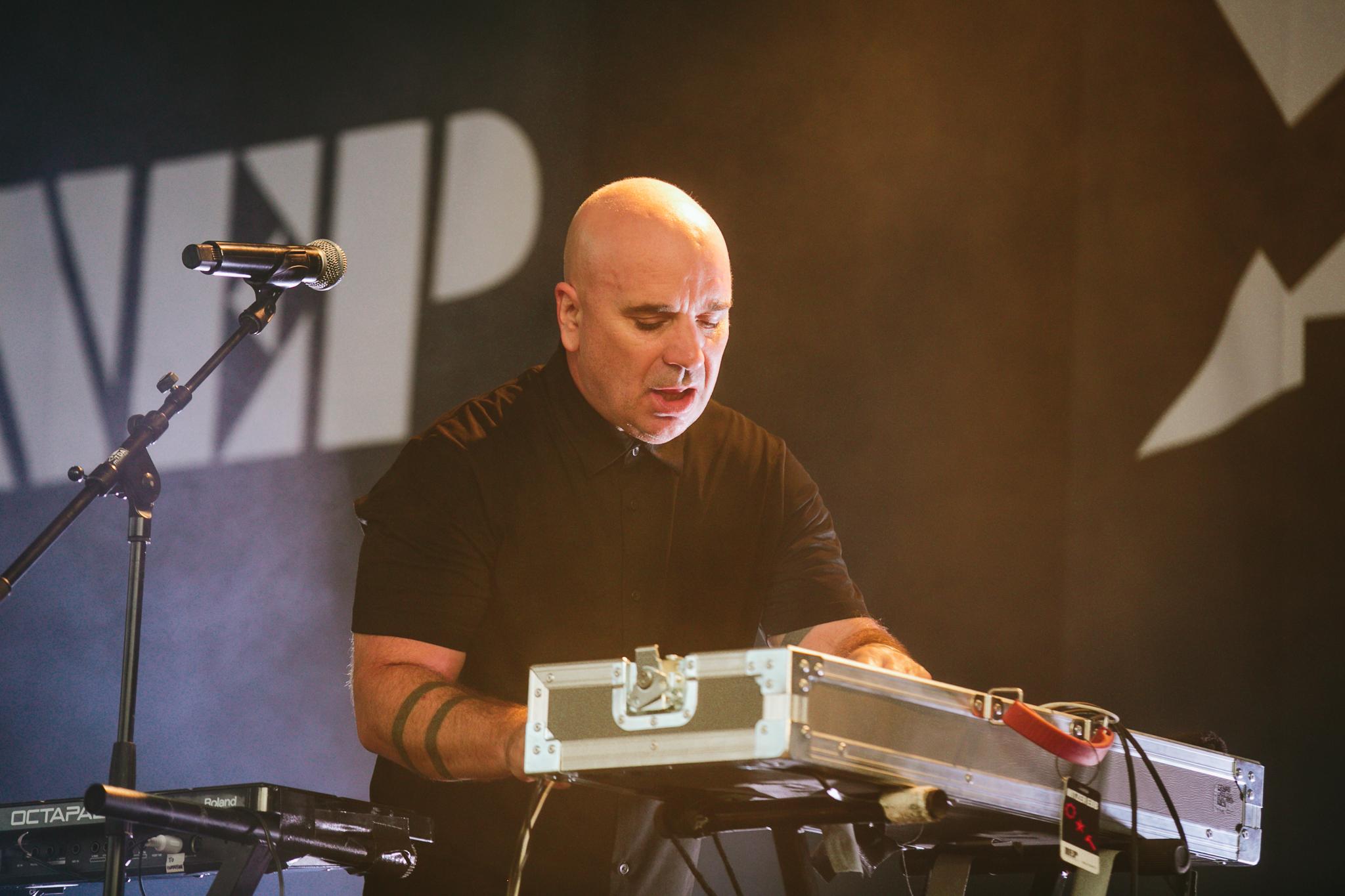 Nitzer Ebb at Amphi Festival 2019, Photo by Chris W. Braunschweiger