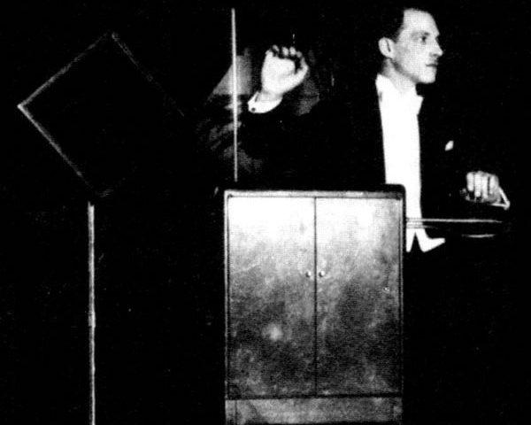 Lev Sergeyevich Termen c. 1924. music tech (photo courtesy of Wikimedia Commons)