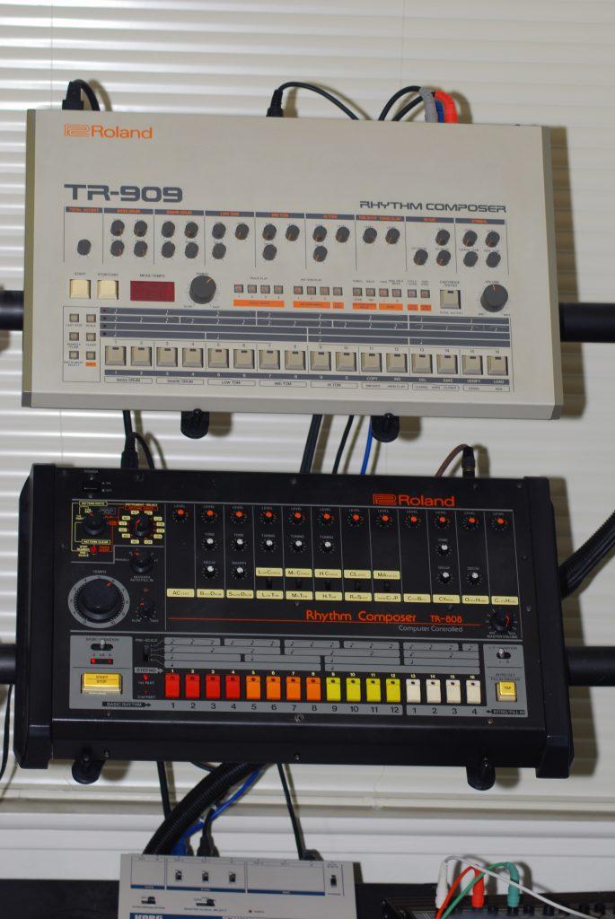 Roland_TR-808_&_909