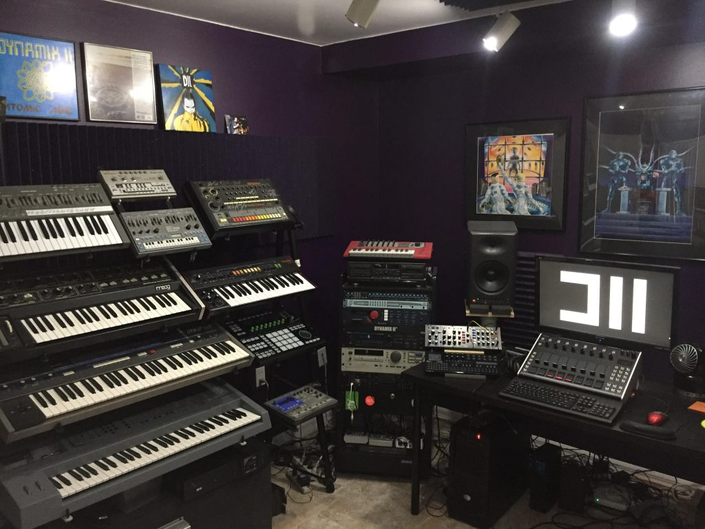 Dynamix II Studio, Photo Courtesy of the Artist