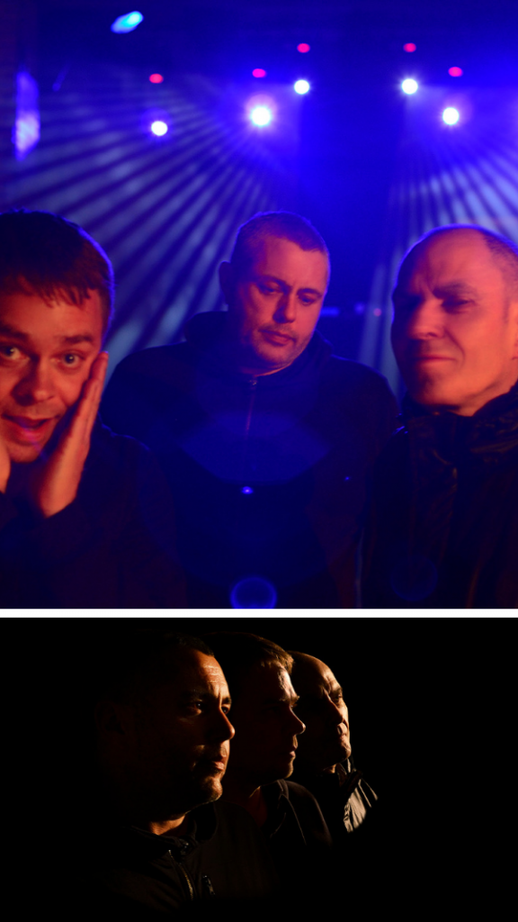 Wiggle: Terry Francis, Nathan Coles, and Eddie Richards, Photos by Peter Ashworth